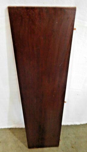 """Antique~Salvage~Mahogany Veneered Table Leaf~Flat Edge  37 1/2"""" long      #2037"""