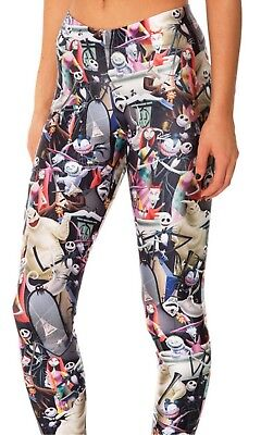 284ca5692bab7 Nightmare Before Christmas Characters Polyester/Spandex Womens Leggings