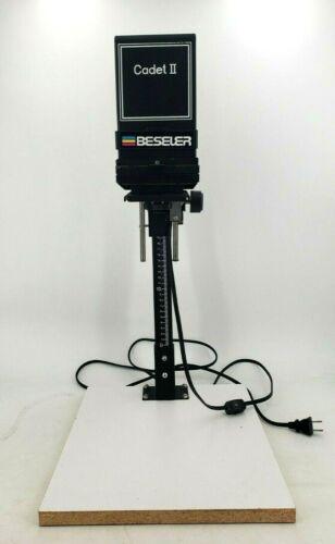 Beseler Cadet 3502 Black 50mm Scale Adjustable Enlarger Photography w/ Baseboard
