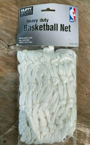 HUFFY SPORTS White Heavy Duty Basketball Net NBA Regulation Size Model 8235 NEW