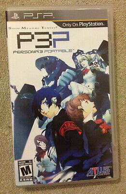 P3P Shin Megami Tensei Persona 3 PSP Portable - Persona 3 Portable