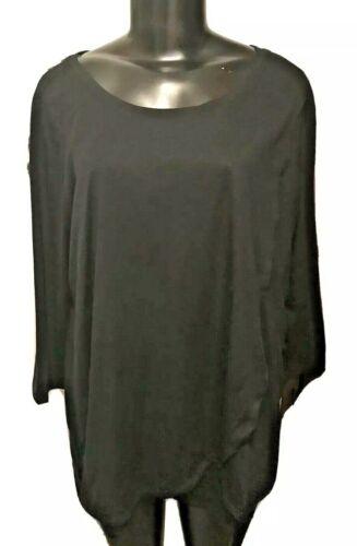XL Motherhood Maternity Nursing Black 3/4 Sleeve Top