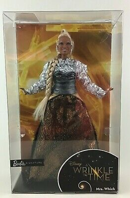 A Wrinkle in Time Barbie Signature Mrs Which Doll Mattel 2017 Oprah Winfrey