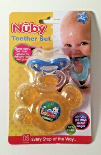 Teether Set Nuby Gum-eez First Teether PurICE Teether BNIP