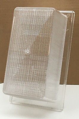 Replacement Wall Pack Light Fixture Plastic Diffuser Lens Refractor 10½