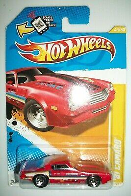 2012  HOT WHEELS NEW MODELS    81 CAMARO