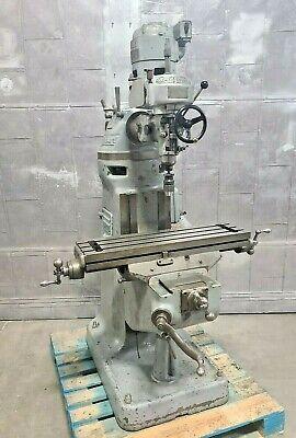 Bridgeport Vertical Mill Milling Machine 9 X 32 Table