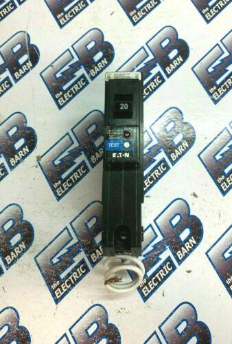 CUTLER HAMMER  BRLAFGF120, (1) 20A 120V 1P AF/GFCI circuit breaker WARRANTY