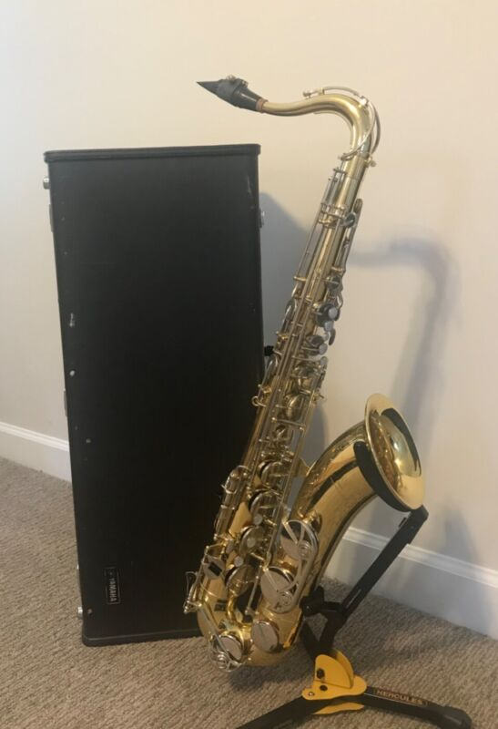 Yamaha Tenor Saxophone YTS-23 Good Condition with Case and Selmer C* Mouthpiece