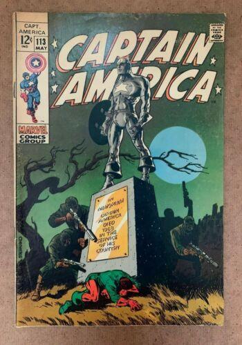 Captain America (1968) #113 Classic