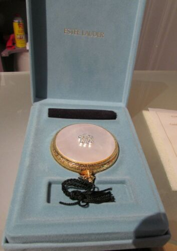 ESTEE LAUDER LUCIDITY COMPACT POWDER GOLDEN CLASSIC LIMITED EDITION NEW W/BOX