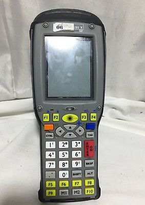 Psion Teklogix 7535 G2 Yellow Key 36-key Barcode Tekterm Scanner