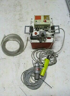 Maschinenfabrik Wagner Electric Hydraulic Torque Wrench Power Pack Controll Unit