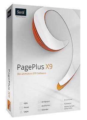 PagePlus X9 Publisher Page Plus Professionelle DTP Software + DriverGenius 12 CD online kaufen