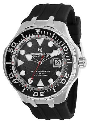 Technomarine TM-118078 NEW 2019 Grand Cruise Blue Reef Silver AUTOMATIC Watch!!!