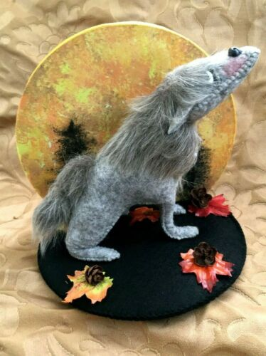 "Rare Annalee 6"" Harvest Moon Wolf-NWT & Bag-Item #860720"