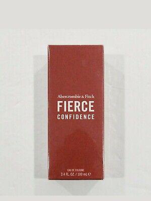 Abercrombie & Fitch Fierce Confidence 100ml/3.4oz Eau De Cologne. NIB....