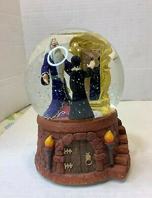 Harry Potter Musical Snow Globe Mirror Of Erised Dumbledore Hungarian Dance No 5