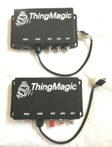 ThingMagic Vega Lot of 2 Durable Indoor/Outdoor UHF RFID Reader RS232 Free Ship
