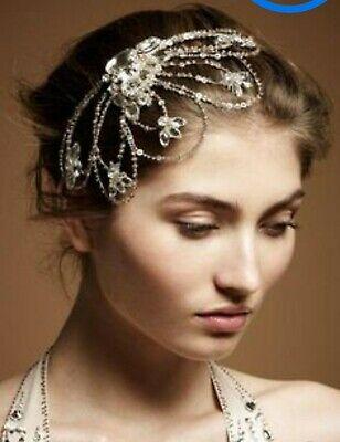 Jenny Packham Bridal Art Deco Vintage Tiara Headdress Headpiece
