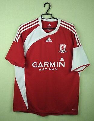 Middlesbrough jersey shirt 2009/2010 Home official adidas football soccer s. XL image