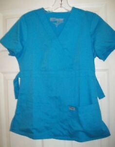 Lot 3 Nurse Scrubs Tops Shirts Size XS