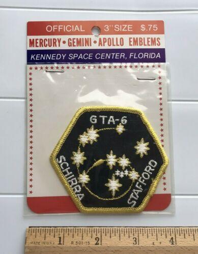 NIP GTA-6 Gemina 6 6A Mission Souvenir NASA TWA Tours Embroidered Patch Badge
