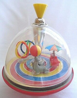 Spinning Top Circus Theme Seal Balancing Ball Toy - Circus Themed Ball