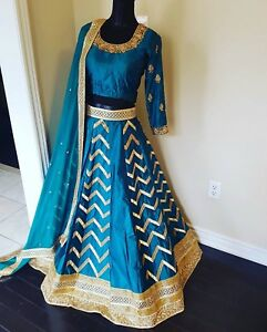 Beautiful Silk Indian Wedding Outfit - PERFECT CONDITION