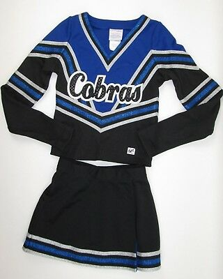 NEW COBRAS Cheerleader Uniform Outfit Costume Child M 30