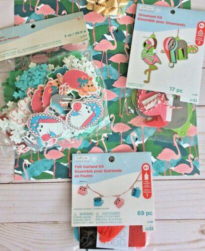 Creatology Christmas Craft Kits Flamingo Ornament + Garland+ Foam Unicorns Sloth