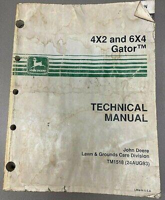 John Deere 4x2 6x4 Gator Technical Manual Tm1518 E-3