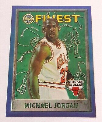 1995-96 TOPPS FINEST #229 MICHAEL JORDAN CHICAGO BULLS GOAT 3RD FINEST CARD