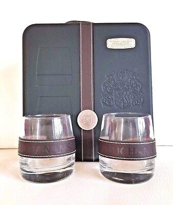 Buchanan's Scotch Whiskey RARE Gift Box with 2 Glasses