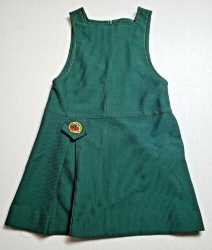 Vintage Girl Scout Cadette Dress - Size 10 Jumper