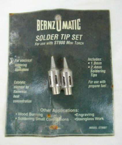 BERNZOMATIC Solder Tip Set Model ST9007