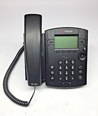 Polycom Vvx 310 6 Line Voip Business Phone 2200-46161-001 With Charger