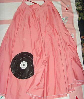 Size L womens handmade rock and roll record Halloween costume theatre vintage - Halloween Costumes Rock And Roll