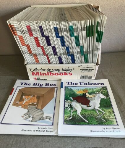 SRA Collections for Young Scholars Level C Phonics 110 Mini Book Teacher