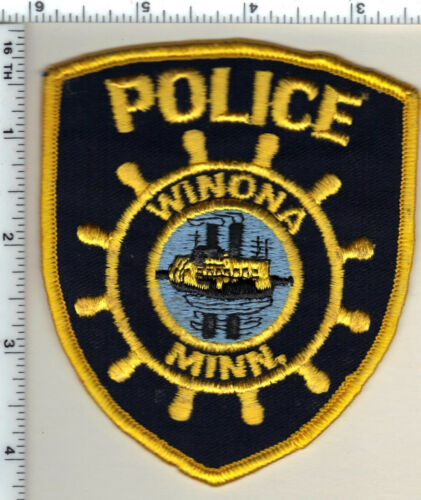 Winona Police (Minnesota)  Shoulder Patch new 1991