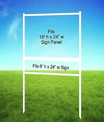 5-pack Real Estate Yard Sign Metal Frames - 18 X 24 - Free Shipping
