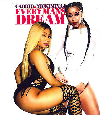 Cardi B   Nicki Minaj   Every Mans Dream    Mix Cd   Sept 17