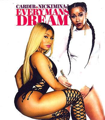 Cardi B   Nicki Minaj   Every Mans Dream    Mix Cd   Sept 17
