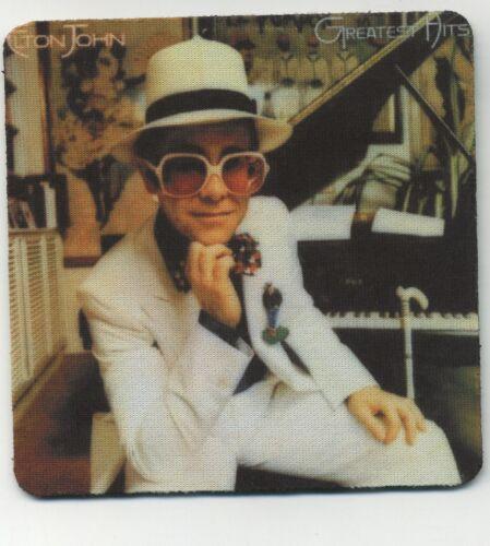 Elton John - Classic Rock Record Album Cover COASTER -  Greatest Hits