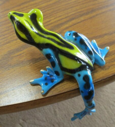 Barry Stein Bronze Frog Hangover Sculpture 2005 8/1000