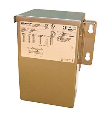 New Dongan 85-lm035 Single-phase Transformer 1kva 240x480-2448 60 Hz