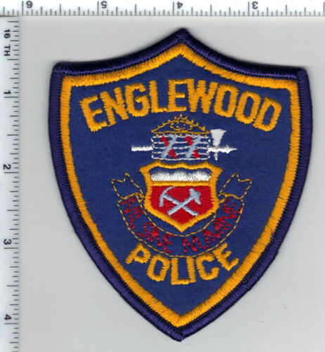 Englewood Police (Colorado) 2nd Issue Shoulder Patch