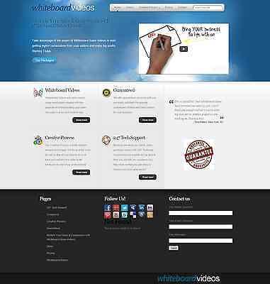 Turnkey Whiteboard Video Business Website Script Autopilot
