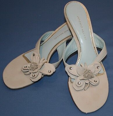 Antonio Melani Thong Dressy Sandals 10M10M Monarch Butterfly Flower Womens](Monarch Butterfly Shoes)
