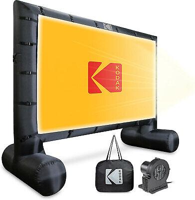 KODAK Inflatable Outdoor Projector Screen   14.5 Feet, Blow-